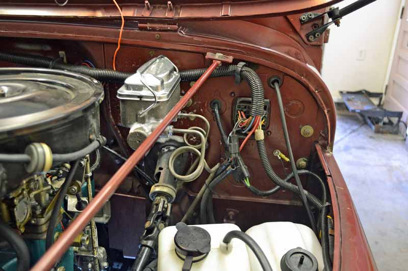 1984 jeep cj 7 progress 2015 09 05 master cylinder lever. Black Bedroom Furniture Sets. Home Design Ideas